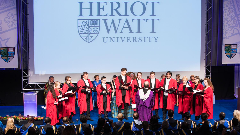 Heriot Watt University Graduation John Need