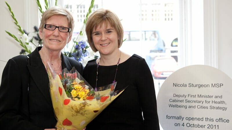 NICOLA STURGEON FOR NHS SCOTLAND